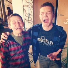 Cameron Monaghan & Ethan Cutkosky from Shameless - Not a movie but I love this show!