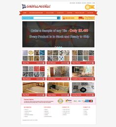 eCommerce Template by Jahidur Rahman, via Behance