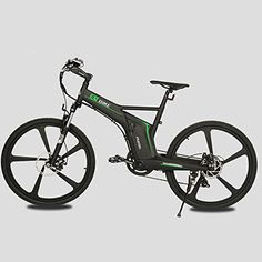 "26"" Matt Black 2016 new style fasion man Electric Bicycle EBike http://www.safetygearhq.com/product/trending-products/electrical-bikes/26-matt-black-2016-new-style-fasion-man-electric-bicycle-ebike/"