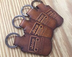 Audi leather keychain. by HarisGomtang on Etsy