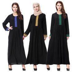 >> Click to Buy << Muslim Islamic Clothing Dress Women Arab Middle East Ma'am Turkish Dresses Robe B146 Adult Abaya Ramadan Clothes Turkey Abayas  #Affiliate