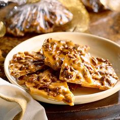 This microwave pecan brittle recipe makes preparing this classic candy super simple.
