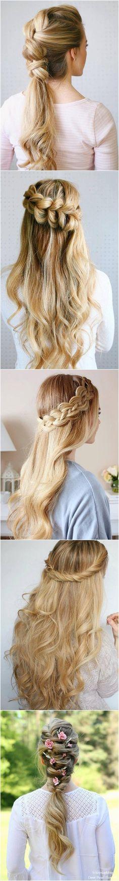 Long Wedding & Prom Hairstyles from Missysueblog ( http://missysue.com ) #hair #hairstyles #wedding #weddingideas #fashion / http://www.deerpearlflowers.com/wedding-prom-hairstyles-for-long-hair/