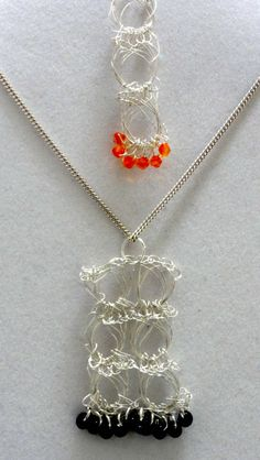Wire broomstick jewelry