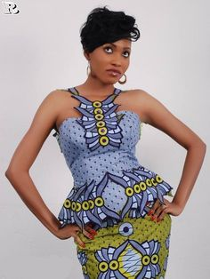 Chic Aso-Ebi Outfits to Pull Off at a wedding guest