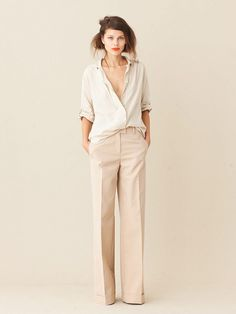 New Style Vestimentaire Femme Pantalon Large 59 Ideas Looks Style, Style Me, Look Zara, Look Street Style, Street Styles, Inspiration Mode, Mode Outfits, Mode Style, Work Fashion