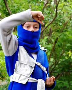 Blue Ninjago Costume by CatherineSoucy on Etsy