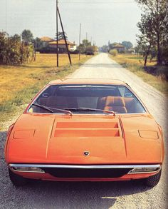 Images of supercars and sports cars from the including the 1970 Lamborghini Urraco Maserati, Ferrari, Alfa Romeo, Porsche, Weird Cars, Cool Cars, Jaguar, Mercedes Benz, Automobile
