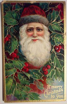 Vintage Christmas Postcard Santa | Explore riptheskull's p… | Flickr - Photo Sharing!