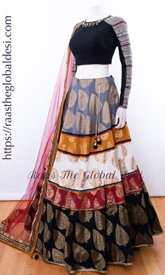 CHANIYA CHOLI 2019 Latest designer & custom-made Lehenga Choli online online.Browse our beautiful designer collection -featuring unique designs & embroidery! Available now in the USA, Canada & Australia! Indian Fashion Dresses, Dress Indian Style, Indian Gowns, Indian Designer Outfits, Indian Outfits, Designer Dresses, Indian Wear, Lehnga Dress, Lehenga Gown