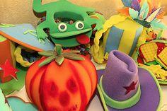 sombreros de goma espuma