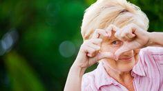 senior woman mindfulness