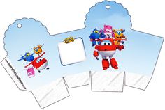 Super Wings: Cajas para Imprimir Gratis. Blogger Templates, Baby Party, Ideas Para, Cupcake, Family Guy, Toys, Fictional Characters, Box Templates, Party Kit