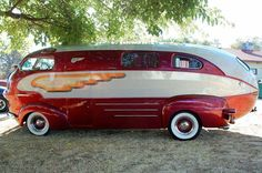 1937 Chris Craft Zeppelin Roadliner Motorhome Is One Of A Kind.
