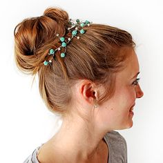 Beaded hair crown / Couronne de bijoux pour cheveux | DeSerres