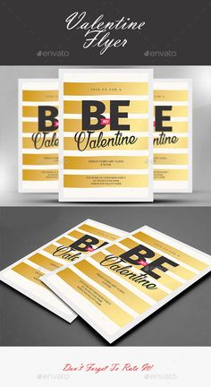 Valentine Flyer Template — Photoshop PSD #anniversary #rose • Available here → https://graphicriver.net/item/valentine-flyer-template/14684072?ref=pxcr