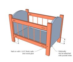 Baby Doll Cradle Plans Free Woodworking Projects Amp Plans