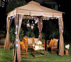 Outdoor Gazebo Lighting Amusing Target Daily Deal Gazebo Lights Just $10 Shipped  Pinterest