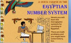 This is a visually appealing power point combining math skills with historical information about Ancient Egypt. Place value to the millions and word problems using hieroglyphics will challenge and inspire students . Answers are provided to the problems as