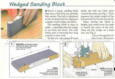 DIY Sanding Block - Sanding Tips, Jigs and Techniques | WoodArchivist.com