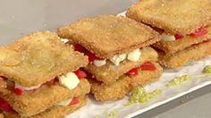 Cuochi per caso...o per forza!!: Parmigiana con mozzarella in salsa di acciughe e m...