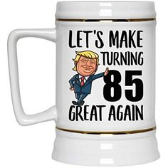 Happy Birthday Gifts for Men Women Turning 37 Year Old Born in 1982 Beer Stein Ceramic 22 oz 80th Birthday Gifts, Birthday Mug, 27th Birthday, Birthday Gift For Him, Birthday Ideas, Birthday Board, Beer Stein, Gift Ideas, Party Ideas