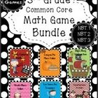 6 math games-place value, rounding, addition, and subtraction