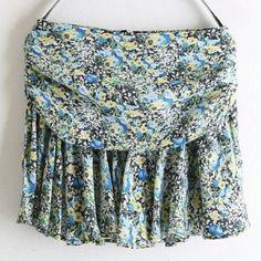 Amazon.co.jp: 小花柄 フレアショートスカート レディースファッション: 服&ファッション小物
