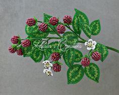 French Beaded Flower Home Decor - Lauren's Creations
