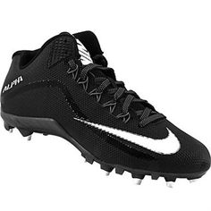 702011bfde64 Nike Alpha Pro 2 3 4 Td Football Cleats - Mens Black White Metallic Dark