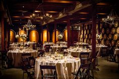 Wedding Reception at V.Sattui Winery in the Napa Valley, CA | Christophe Genty Photography #weddingphotography #reception
