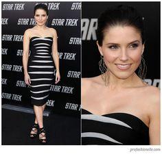 Herve Leger Zebra Stripe Dress