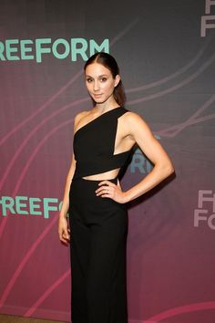 Troian Bellisario at the Freeform Upfronts 2016 | 4/7/16.