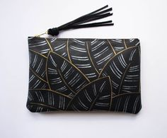 3955214d42 Painted Calathea Clutch Inspired by the gorgeous leaves of the Calathea  majestica plant