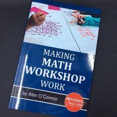 Making math workshop work in the middle school math classroom. Teaching 6th Grade, Teaching Math, Math Resources, Math Activities, Math Games, Math Stations, Math Centers, Middle School Books, Math Groups