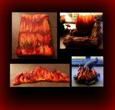 Create Fire In Polymer Clay, Two Different Techniques