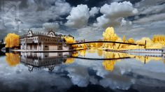 Beautiful Infrared Imagery Will Make You Pause and Stare Infrared Photography, Science Nature, Clouds, Architecture, David, Places, Outdoor, Inspiration, Beautiful