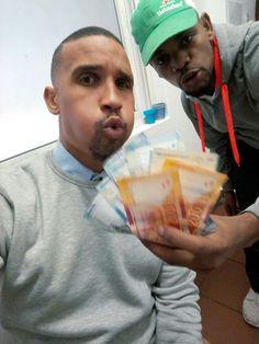 Blowing money