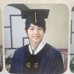Song Joong Ki's College Graduation Photo Revealed!