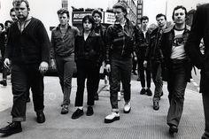 Teddy boys on Kings Road, Chelsea, 1978