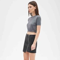HOST PICKBlack Zippered Asymmetrical Skirt No TradesPrices are negotiable. Please use the offer button Skirts Asymmetrical