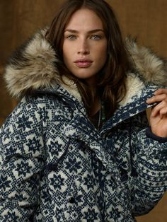 Corduroy Snorkel Jacket - Outerwear Women - RalphLauren.com