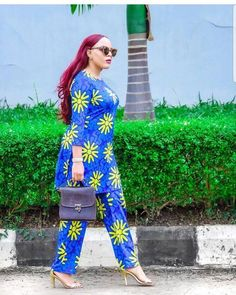 African Wedding Bants and African fashion Latest African Fashion Dresses, African Dresses For Women, African Print Dresses, African Print Fashion, Africa Fashion, African Attire, Africa Dress, Mode Top, African Traditional Dresses