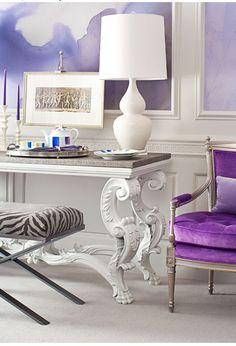 Soothing purple