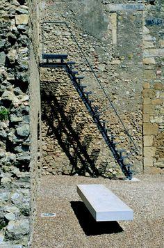 Edgar Martins, João Mendes Ribeiro · Tea House, Montemor-o-Velho Castle · Divisare
