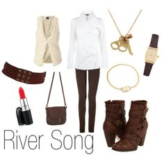 Character Inspired Fashion - River Song