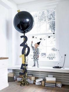 XXL ballonnen - Zwart