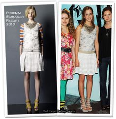 """Runway To """"Harry Potter and the Half-Blood Prince"""" London Photocall- Emma Watson In Proenza Schouler"""