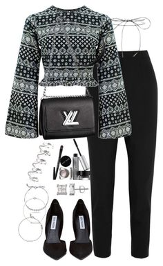 Untitled #2116 by ritavalente on Polyvore featuring polyvore, fashion, style, Dolce&Gabbana, Steve Madden, Eddie Borgo, BERRICLE, H&M, Lilou, Yves Saint Laurent, Bobbi Brown Cosmetics, Louis Vuitton and clothing
