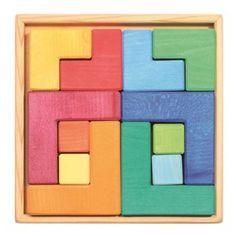 Puzzle mil formas – juguetes creativos de madera